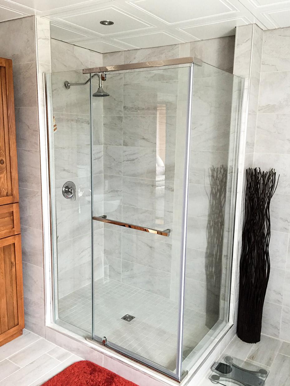 Salle De Bain Rimouski ~ salle de bain avec c ramique mur mur r novation daniel ruest